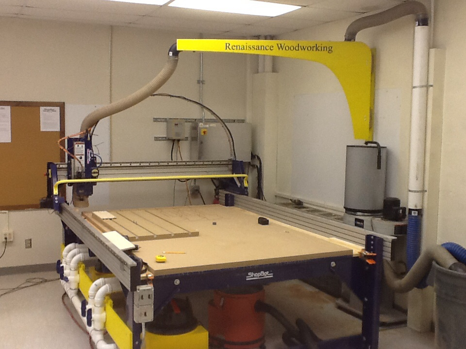 How To Suspend The 4 Dust Hose Over 96 X 60 Shopbot