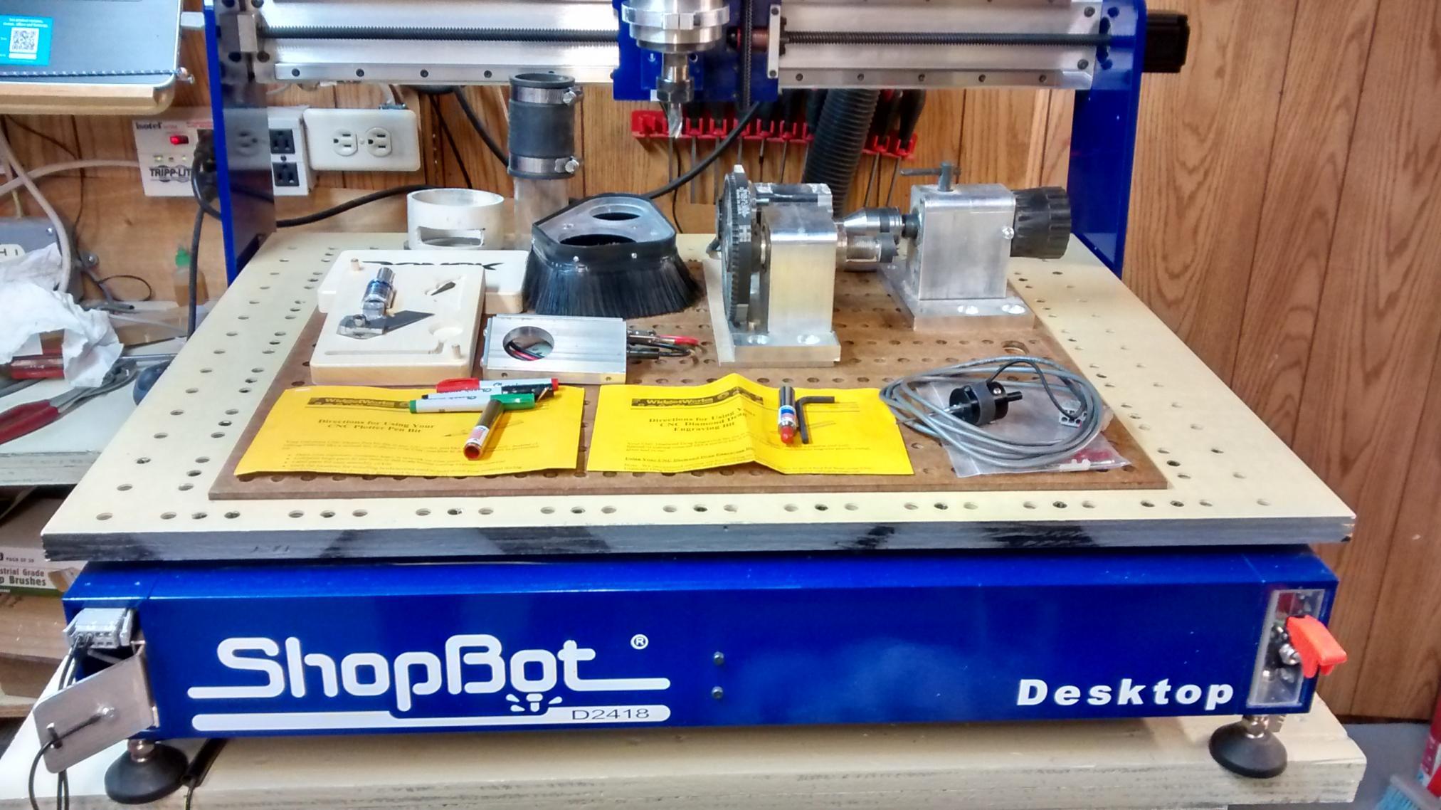 Miraculous Shopbot Desktop 5 1 2 Z Indexer Accessaries Interior Design Ideas Inamawefileorg