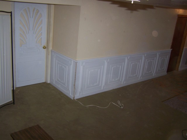 Wainscot Design That Incorporates Vents Amp Outlets